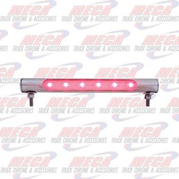 TUBE W/ LEDS FOR LICENSE PLATE LIGHT RED