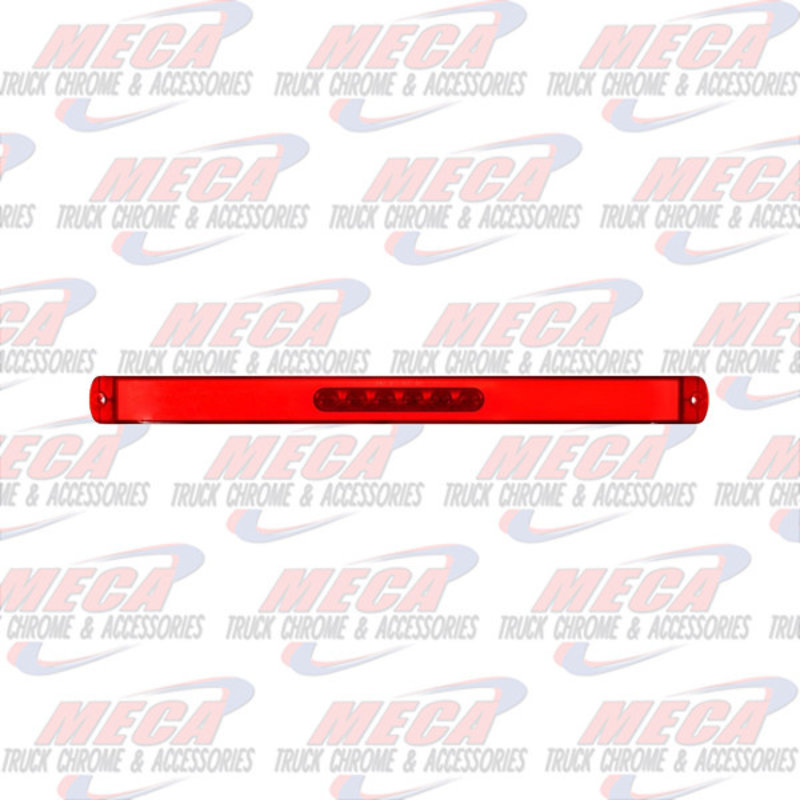 """LED HALO 17"""" LONG BAR RED"""