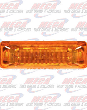 MARKER LIGHTS LED AMBER LIGHT & CHROME MOUNTING KIT