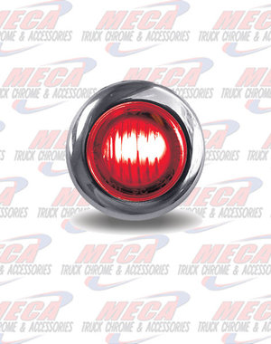 "MARKER LIGHTS MINI LED DOTS DUAL REVOLUTION RED/WHT .75"" DIA"