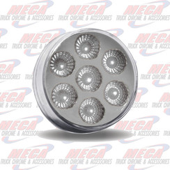 LED 2'' DUAL REVOLUTION 7 DIODES RED/WHT