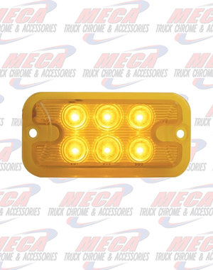 MARKER LIGHTS 6 LED DUAL FUNCTION / BRIGHTNESS AMB / AMB LIGHT