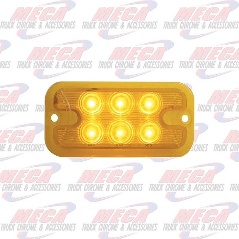 6 LED DUAL FUNCTION / BRIGHTNESS AMB / AMB LIGHT
