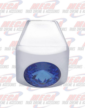 INSIDE A/C SLIDE KNOBS BLUE 3PK FL PB KW single
