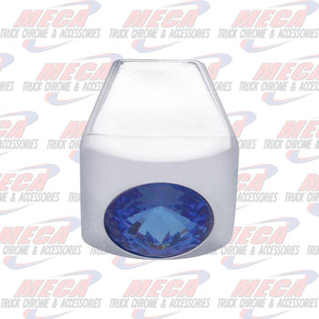 A/C SLIDE KNOBS BLUE 3PK FL PB KW single