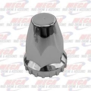 NUT COVER FLAT TOP THREADED 33MM EACH (10PACK) single