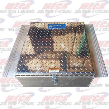 TOOL BOX BETWEEN FRAME DIAMOND PLATE DOOR