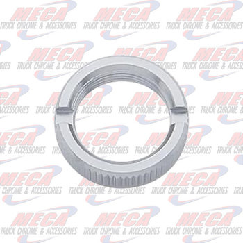 CHROME SWITCH NUT FL KW PB 6PK single