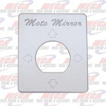 DASH PLATE MOTO MIRROR - UA