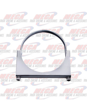 "SIDE EXHAUST CLAMP 6"" SS"