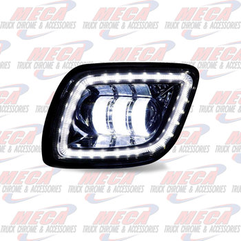 ** REPLACED BY LFO4510 ** FOG LIGHT FL CASCADIA BLACK LED PSGR SIDE 2008-17
