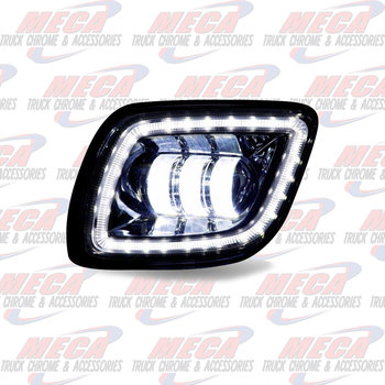 FOG LIGHT FL CASCADIA CHROME LED DVR SIDE 2008-17