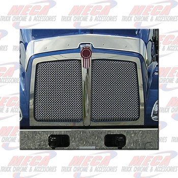FRONT OF HOOD TRIM KW T300 FITS AROUND GRILL