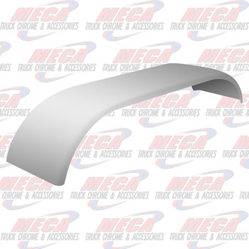 "FULL FENDER SS SET 16 GA SMOOTH FINISH 35""-54""-31"""