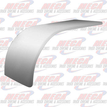 "HALF FENDER S.S.  SMOOTH FINISH  72"" LONG"
