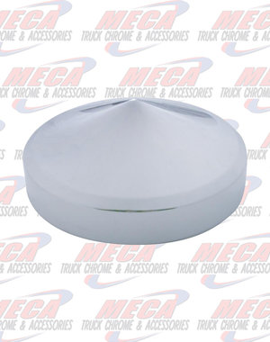 """TOP HORN COVER CHROME POINTED 5.5"""" to 6"""""""