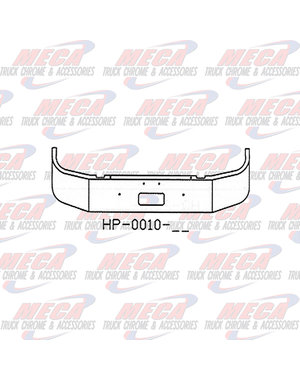 FRONT BUMPER PB 330/335 13'' SET FWD 1997+ W/ TOW ONLY