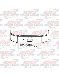 FRONT BUMPER PB 330/335 16'' SET FWD 1997+ W/ TOW ONLY