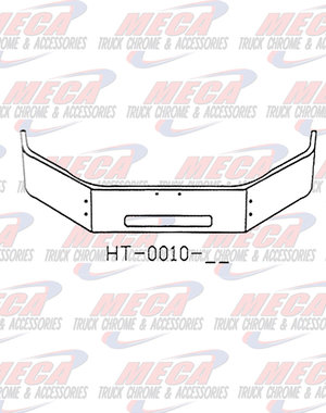 FRONT BUMPER PB 335 20'' STEP HOLE ONLY 2006+