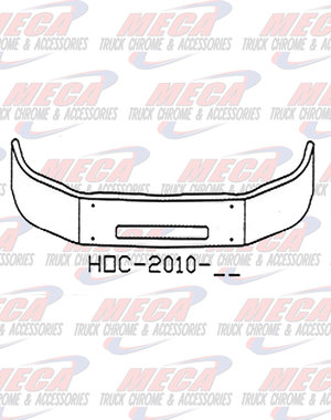 FRONT BUMPER PB 337 2015+ 13'' W/ STEP HOLE