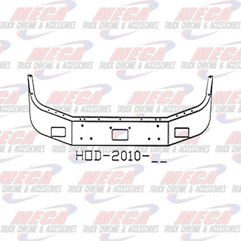 VALLEY CHROME BUMPER PB 378 & 357 20'' CHROME BREAK BACK, TOW,FOG