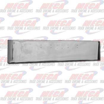 VALLEY CHROME BUMPER PB 359 18'' W/ MOUNTING HOLES AND TAG HLS