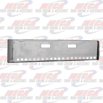 VALLEY CHROME BUMPER PB 359 18'' W/ TOW HLS & 20 - 2'' LT HLS