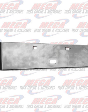 FRONT BUMPER PB 389 20'' BOXED W/ TOW, STEP & TAG HOLES