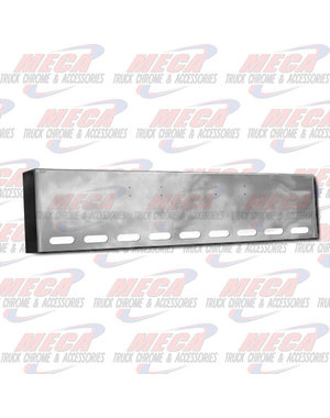 FRONT BUMPER PB 359 18'' BOXED W/ 9 OVAL LIGHT HOLES