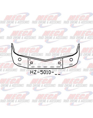 "FRONT BUMPER PB 579 16"" TOW, FOG ROUND 7 BB LIGHTS SETBACK"
