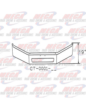FRONT BUMPER FL BUSINESS CLASS M2 16'' W/ VENT HOLE 03+