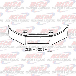 BUMPER FL BUSINESS CLASS 16'' M2-106 VENT HOLE 2011