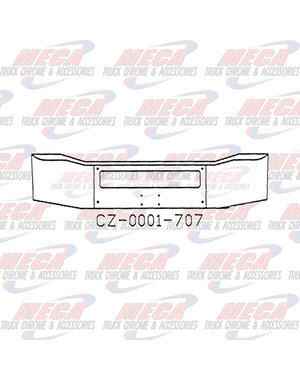 FRONT BUMPER FL CORONADO 17.5''  AIR FLOW ONLY