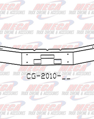 FRONT BUMPER FLD112  12'' WIDE W/ 6'' BREAKBACK 92'' LONG