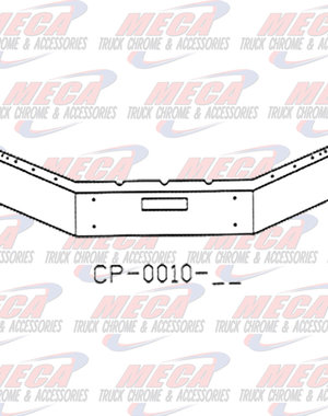 FRONT BUMPER FLD 112 W/ 17'' BREAK BACK SEVERE DUTY