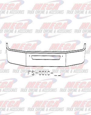 FRONT BUMPER KW T270 T370 16'' W/ AIR FLOW HOLE ONLY