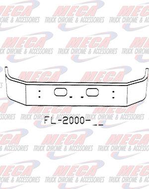 FRONT BUMPER KW T300 16'' SET FWD W/ SQD TOW & LIC HOLES