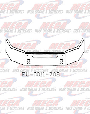 FRONT BUMPER KW T440 16'' W/ TOW & STEP