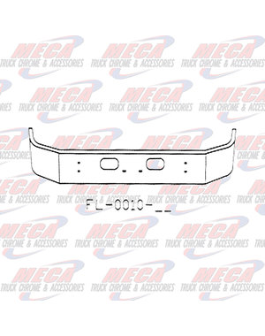FRONT BUMPER KW T300 13.5'' SET FWD W/TOW -RND LT AT ENDS