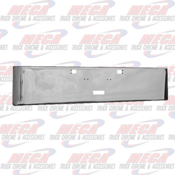 VALLEY CHROME BUMPER KW W900A 1967-1981 18'' TOW STEP ROLLED END