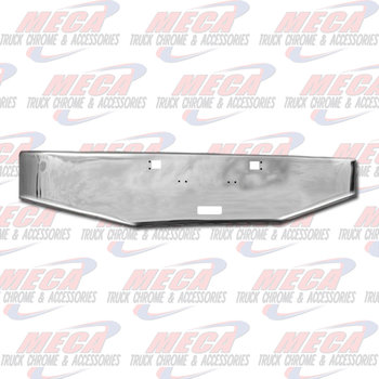 VALLEY CHROME BUMPER KW W900A 1967-1981 18'' TOW STEP TAPERED END