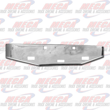 VALLEY CHROME BUMPER KW W900S TAPERED 20'' TOW & STEP HLS 1989+