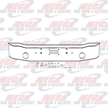 VALLEY CHROME BUMPER KW K100C 16'' GULL WING