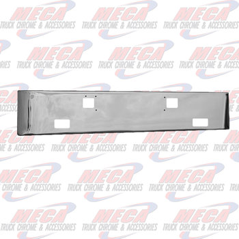 VALLEY CHROME BUMPER KW K100E 16'' GWING W/TOW & FOG LGT HLS