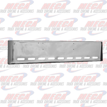 VALLEY CHROME BUMPER KW K100E 20'' W/9 OVAL LGT HLS