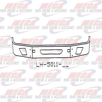 VALLEY CHROME BUMPER VOLVO VNL 64T 630 670 780 20'' S/S 2004-2017