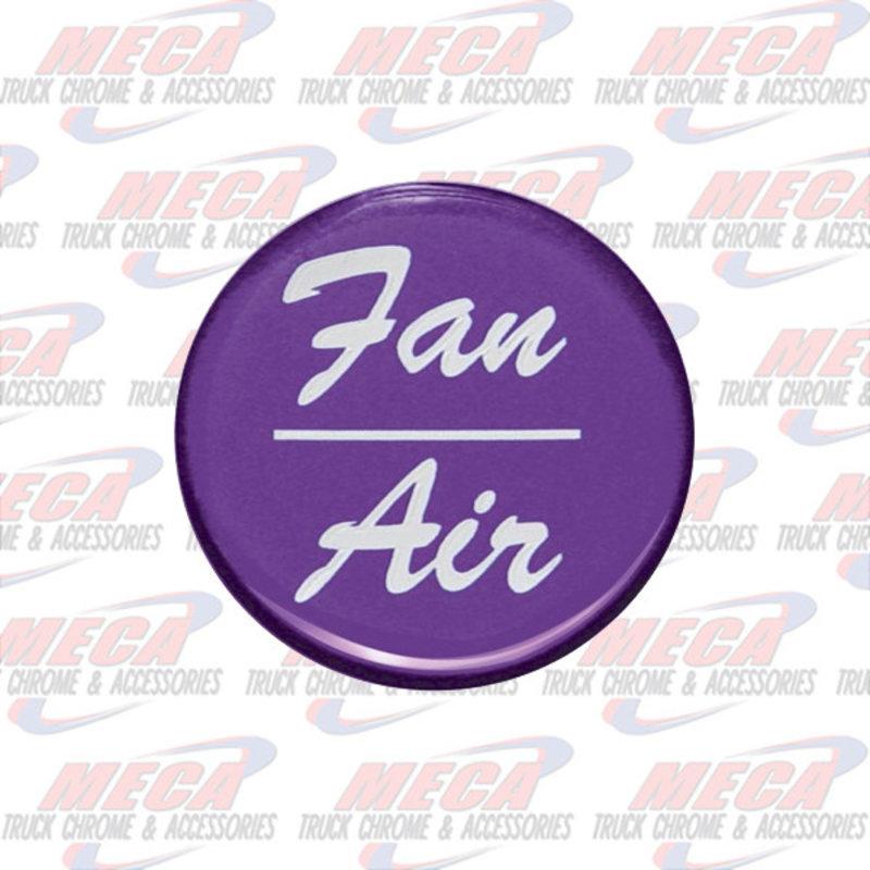 AIR/FAN KNOB STICKER PURPLE GLOSSY