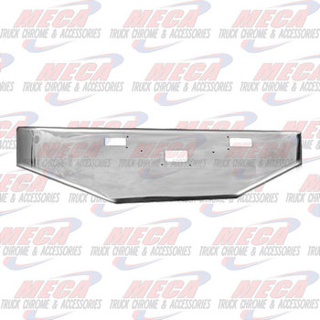 VALLEY CHROME BUMPER PB 362 COE 1981+ 18'' TAPERED STEP & TOW