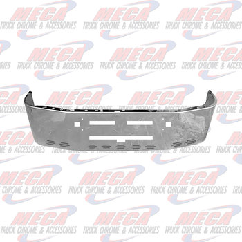 VALLEY CHROME BUMPER KW T600 20'' SS TOW, AIR FLOW, 9 BB LT HLS