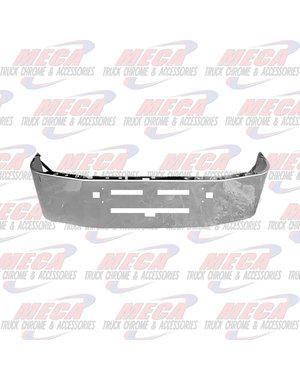 FRONT BUMPER KW T600 16'' TOW, AIR VENTS, CHROME